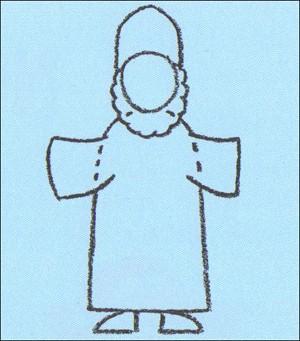 Aprender a dibujar : Como dibujar San Nicolás