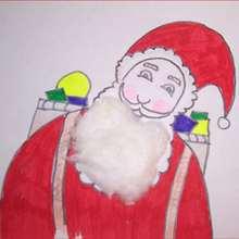 Aprender a dibujar : Santa Claus