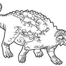 Dibujo para colorear : Anodontosauro