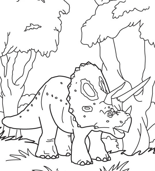Dibujos para colorear DINOSAURIOS - imprimir 79 dibujos de dinosaurios