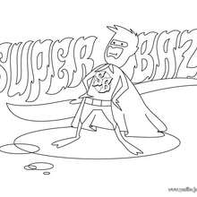 Dibujo vestido del Superheroe - Dibujos para Colorear y Pintar - Dibujos para colorear SUPERHEROES - Superheroes de Yodibujo