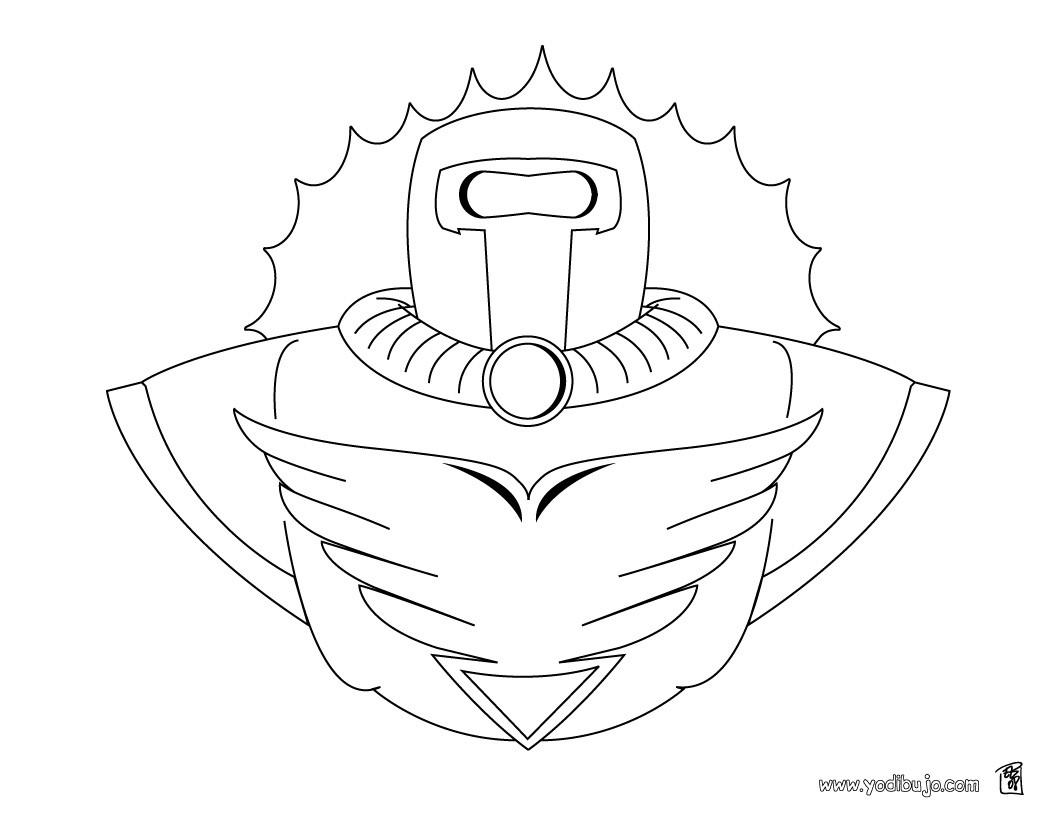 Dibujos para colorear superperro - es.hellokids.com