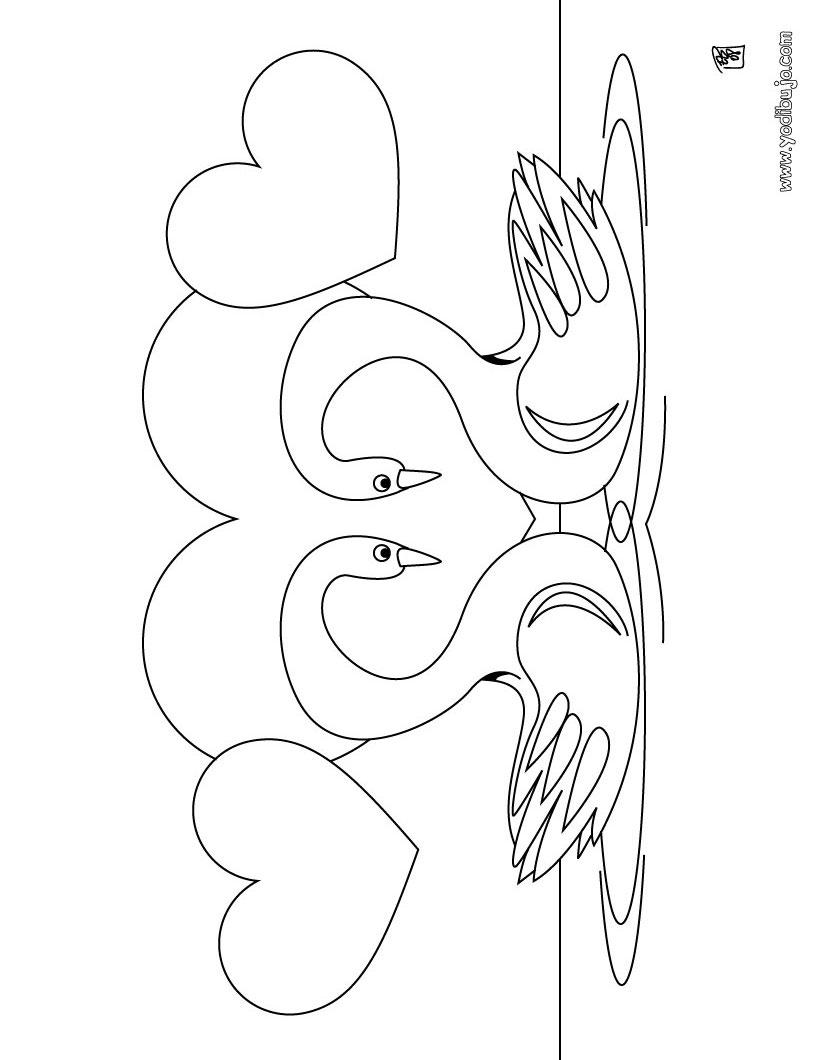 Dibujos para colorear pajaritos - es.hellokids.com