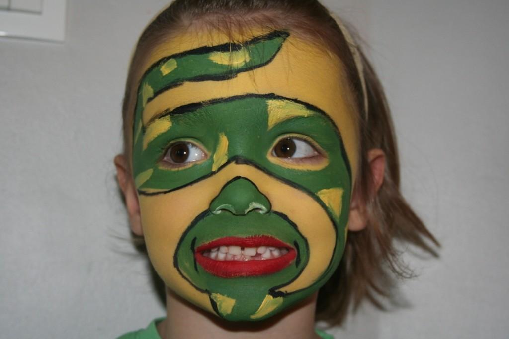 maquillaje-serpiente-carnaval