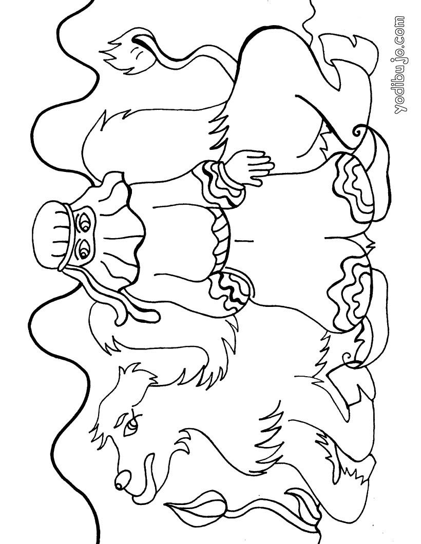 Varios personajes para colorear - 9 dibujos gratis para imprimir y ...