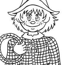 Dibujo gratis de un chico - Dibujos para Colorear y Pintar - Dibujos para colorear PERSONAJES - Dibujos para colorear y pintar PERSONAJES - Varios personajes para colorear