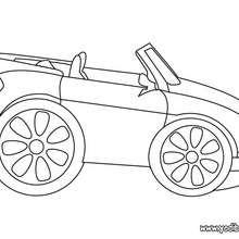 coche cabriolé