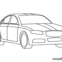 Dibujo coche de mi papá - Dibujos para Colorear y Pintar - Dibujos para colorear VEHICULOS - Dibujos para colorear COCHES - Dibujos para colorear CARROS