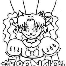 Dibujo para colorear ESTAMPA FRANCESA - Dibujos para Colorear y Pintar - Dibujos para colorear los PAISES - FRANCIA para colorear - Dibujos para colorear PAISAJES FRANCIA