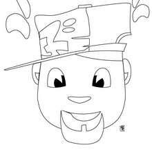 Dibujo de un militar para pintar - Dibujos para Colorear y Pintar - Dibujos para colorear PERSONAJES - Dibujos para colorear y pintar PERSONAJES - Varios personajes para colorear