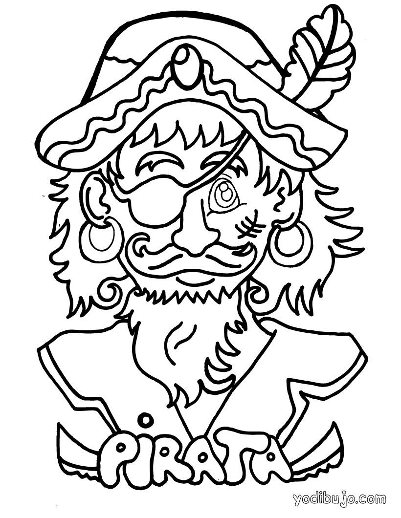 Dibujos para colorear barco de piratas - es.hellokids.com