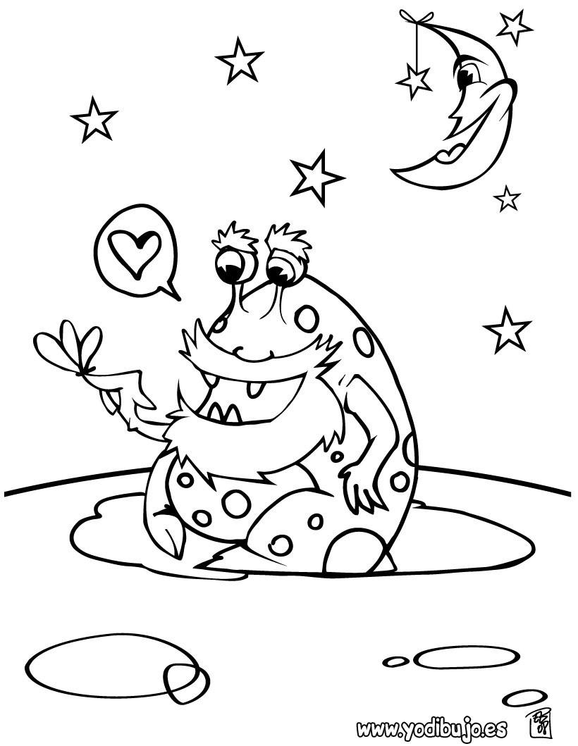 Dibujos Monstruos Infantiles. Dibujos Monstruos Color Buscar Con ...