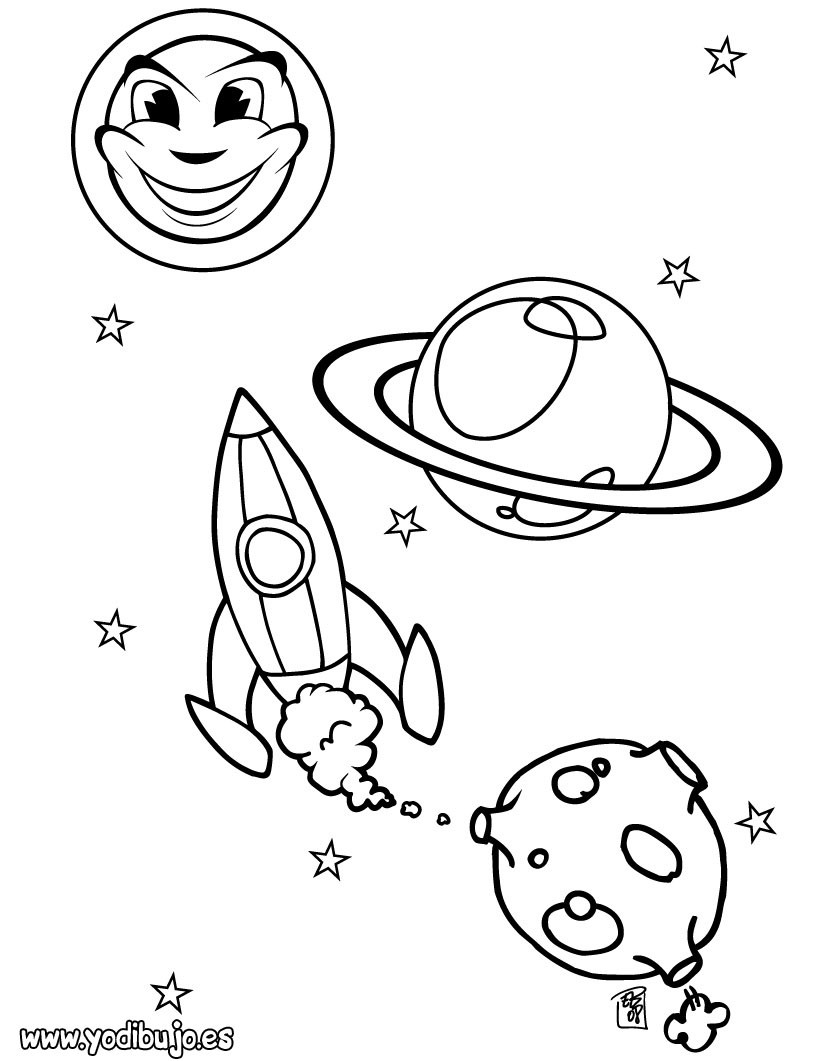 real rocket coloring pages - photo#17