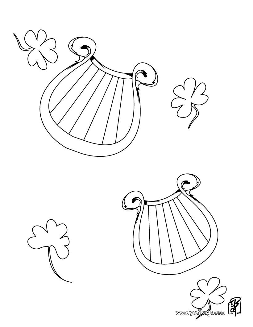 Dibujos para colorear herraduras - es.hellokids.com
