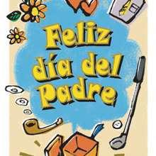 Tarjeta dia del padre CORAZONES - Manualidades para niños - DIA DEL PADRE manualidades infantiles - Tarjetas DIA DEL PADRE