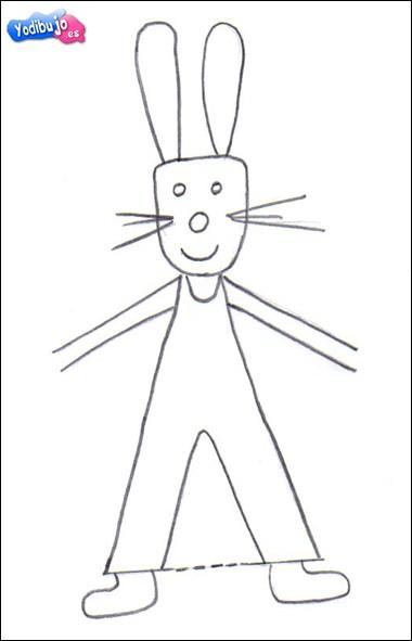 Aprender a dibujar : Conejito de Pascua