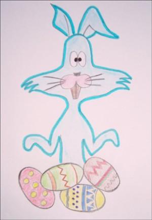 Aprender a dibujar : Conejo de Pascua
