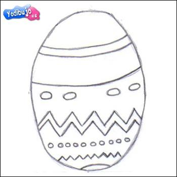Aprender a dibujar : Huevo de Chocolate