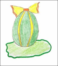 Aprender a dibujar : Huevo Pintado