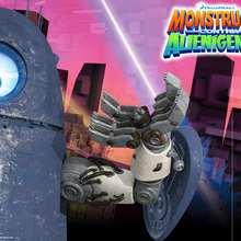 Forro: ROBOT - Manualidades para niños - Manualidades infantiles - Marcadores y letreros muy chulos - Forros y marcapáginas de Monstruos contra Alienígenas
