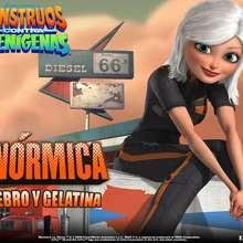 Monstruos contra Alienígenas: Ginormica - Dibujar Dibujos - Dibujos para DESCARGAR - FONDOS GRATIS - Fondos e íconos: Monstruos contra Alienígenas