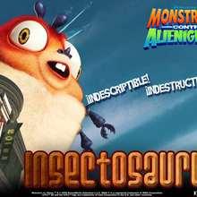 Fondo de pantalla : Monstruos contra Alienígenas: Insectosaurus