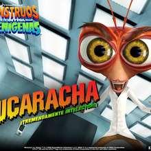Fondo de pantalla : Monstruos contra Alienígenas: Doctor Cucaracha