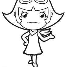 Dibujo Cooking Mama 3 - Dibujos para Colorear y Pintar - Dibujos para colorear PERSONAJES - Dibujos para colorear y pintar PERSONAJES - COOKING MAMA WORLD para colorear - COOKING MAMA 2 Nintendo: dibujos para colorear