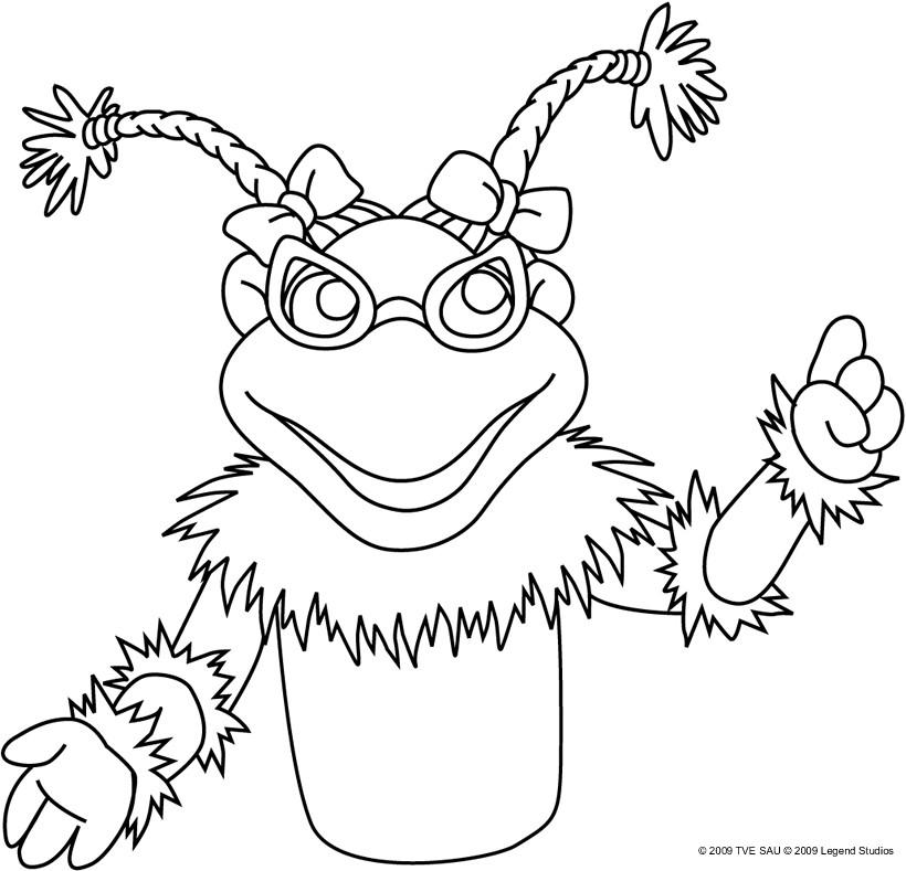 Dibujos para colorear lupita   es.hellokids.com