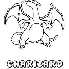 Dibujo Pokemon Charizard