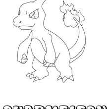 Dibujo Pokemon Charmeleon