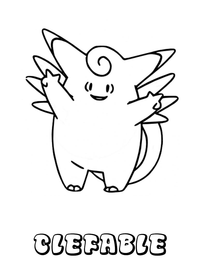 Dibujos para colorear raticate - es.hellokids.com