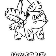 Dibujo para colorear : Ivysaur