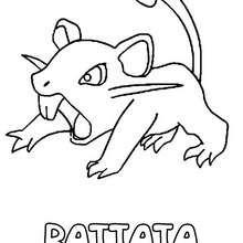 Dibujo para colorear : Rattata