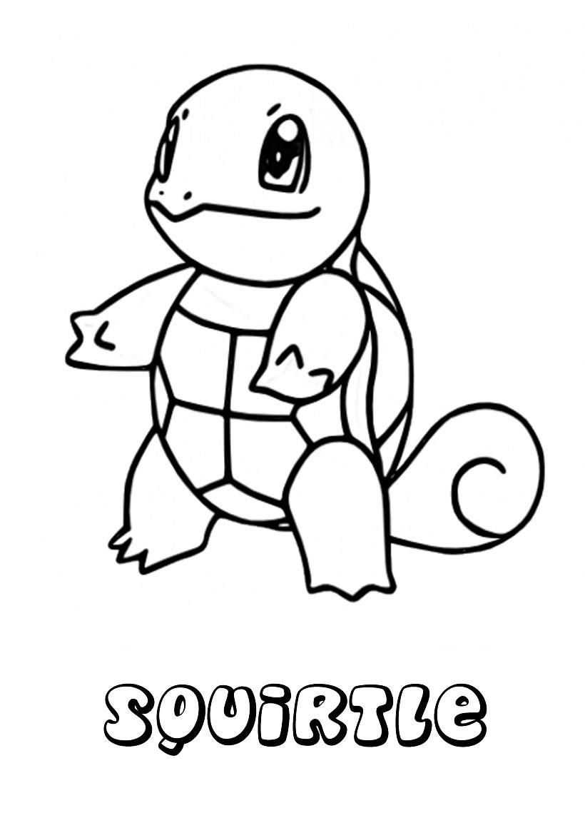 Dibujos para colorear POKEMON AGUA - 12 dibujos manga para colorear ...