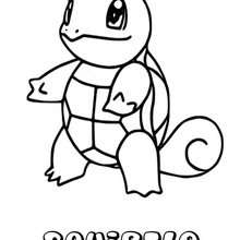 Dibujo para colorear : Squirtle