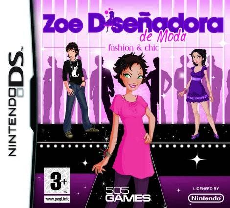 Zoe: Diseñadora de moda - Fashion and Chic DS - Juegos divertidos - CONSOLAS Y VIDEOJUEGOS