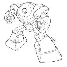 Robot  Dibujos para Colorear Videos y Tutoriales Manualidades