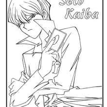 Dibujo seto kaiba - Dibujos para Colorear y Pintar - Dibujos para colorear MANGA - Dibujos para colorear de YU GI OH - Dibujos para colorear PERSONAJES YU GI OH
