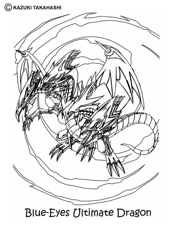 Dibujos para colorear de YU GI OH - 38 dibujos YU GI OH para ...