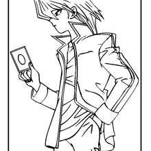 Dibujo personaje Yu Gi Oh 5 - Dibujos para Colorear y Pintar - Dibujos para colorear MANGA - Dibujos para colorear de YU GI OH - Dibujos para colorear PERSONAJES YU GI OH