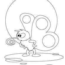 Dibujo mosquito - Dibujos para Colorear y Pintar - Dibujos para colorear ANIMALES - Dibujos INSECTOS para colorear - Dibujos para colorear MOSQUITO