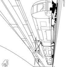 un tren eléctrico