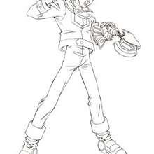 Dibujo personaje Yu Gi Oh 6 - Dibujos para Colorear y Pintar - Dibujos para colorear MANGA - Dibujos para colorear de YU GI OH - Dibujos para colorear PERSONAJES YU GI OH
