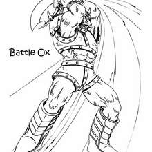 bufalo battle ox
