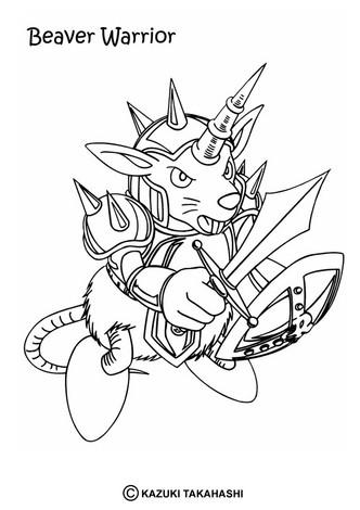 Dibujos para colorear black skull dragon - es.hellokids.com