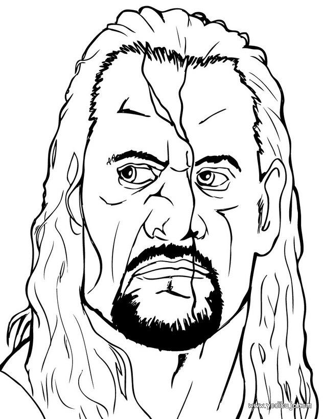 Dibujos para colorear the undertaker el luchador wwe - es.hellokids ...