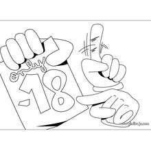 Fabricar un letrero para menores de edad