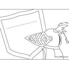 Manualidad infantil : Fabricar un letrero caballero