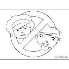 Manualidad infantil : Fabricar un letrero ¡Prohibido el paso! (padres)